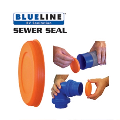 Picture of Prest-o-Fit Blue Line (R) Push-On Sewer Hose Seal 1-0030 11-0219