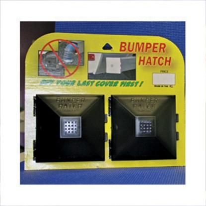 Picture of Design 4 Fun Bumper End Cap Black Bumper Plug, 2/pk 910 11-0232
