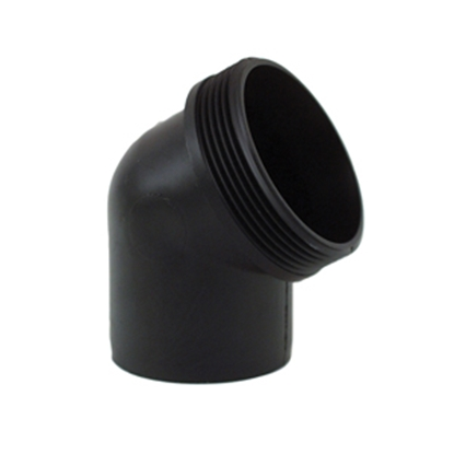 "Picture of Valterra  Black 3"" 60 Degree Elbow Sewer Hose Connector F02-2003 11-0254"