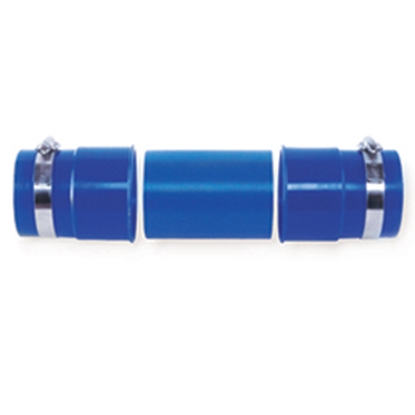 Picture of Prest-o-Fit Blue Line (R) Blue Sewer Hose Connector 1-0204 11-0279