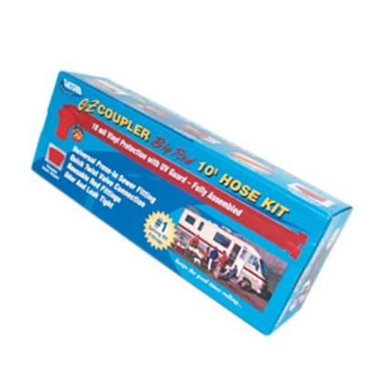 Picture of Valterra EZ Coupler Red 10' 18 Mil Vinyl Sewer Hose D04-0106 11-0288