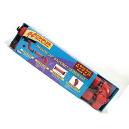 Picture of Valterra EZ Coupler Red 20' 18 Mil Vinyl Sewer Hose D04-0115 11-0311