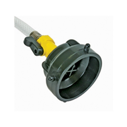 Picture of Camco  Black Sewer Hose Cap For Easy SlipT, RhinoFlexT & Standard Fittings 39533 11-0386