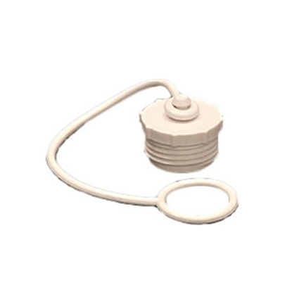 "Picture of Aqua Pro  Fresh Water Hose Cap For 3/4"" Male Garden Hose w/ Lanyard 27839 11-0508"