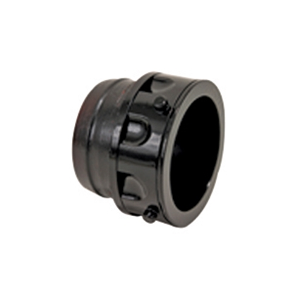 "Picture of Valterra  Black 3"" Bayonet Sewer Hose Connector F02-2028 11-0566"