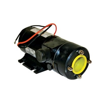 """Picture of Flojet  12V/ 16A 3"""" Slip-On Hose Inlet/ Hose Barb Outlet Macerator Pump 18550000A 11-0592"""