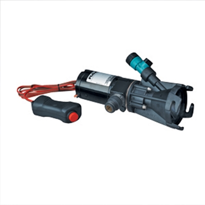"""Picture of Flojet  Portable 12V/ 16A 3/4"""" MGH Outlet Macerator Pump 18555000A 11-0593"""