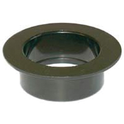 """Picture of Icon  Black ABS Plastic 1-1/2"""" Flush Slip Holding Tank Fitting 00421 11-0763"""