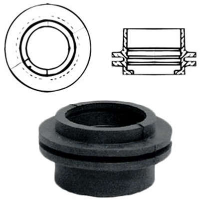 "Picture of Custom Roto Molding  1-1/2"" Rubber Grommet Inlet 91 11-0995"