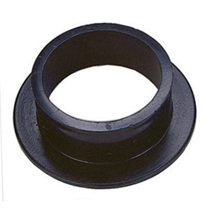 "Picture of JR Products  Black ABS Plastic 1-1/2"" Flush Slip Holding Tank Fitting 221 11-1002"