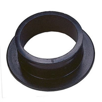 "Picture of JR Products  Black ABS Plastic 2"" Flush Slip Holding Tank Fitting 217 11-1003"