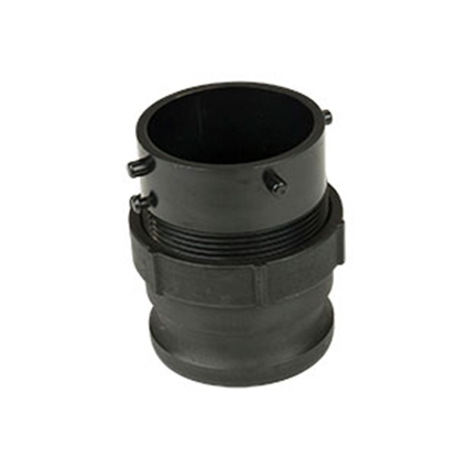 Picture of Lippert Waste Master (TM) Black Cam To Bayonet Sewer Hose Connector 360785 11-1804