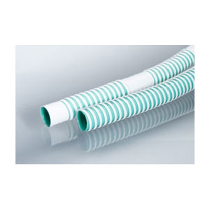 """Picture of Smooth-Bor  3/4"""" D x 10' L White Polyethylene Drain Hose 90F 11-1812"""