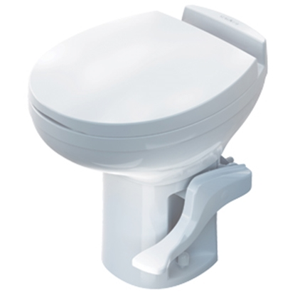Picture of Thetford  White Elongated Seat & Cover For Thetford Aria Toilet 42178 12-0288