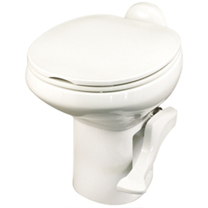 Picture of Thetford Aqua Magic (R) Style II Aqua Magic Style II Bone High Profile Permanent Toilet w/ Water Saver 42064 12-0437