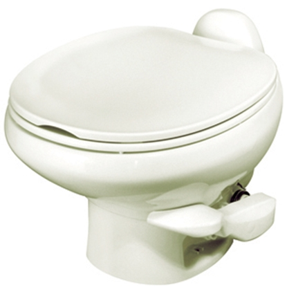 Picture of Thetford Aqua Magic (R) Style II Aqua Magic Style II Bone Low Profile Permanent Toilet w/ Water Saver 42065 12-0439