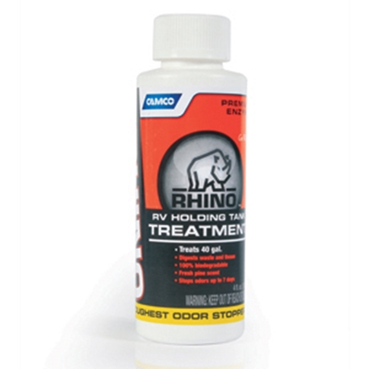 Picture of Camco RhinoFLEX (TM) 4 Oz Bottle Holding Tank Treatment w/Deodorant 41515 13-0077