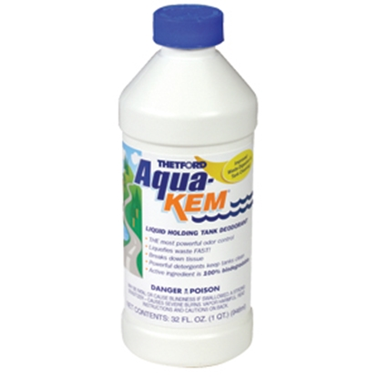Picture of Thetford Aqua-Kem (R) 32 Oz Bottle Holding Tank Treatment w/Deodorant & Formaldehyde 09852 13-0108