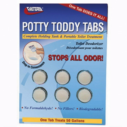 Picture of Valterra Potty Toddy 6-Pack Holding Tank Treatment Q5000VP 13-0182