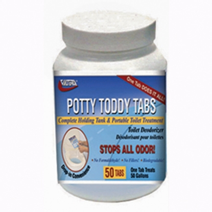 Picture of Valterra Potty Toddy 50-Pack Holding Tank Treatment Q5004 13-0184
