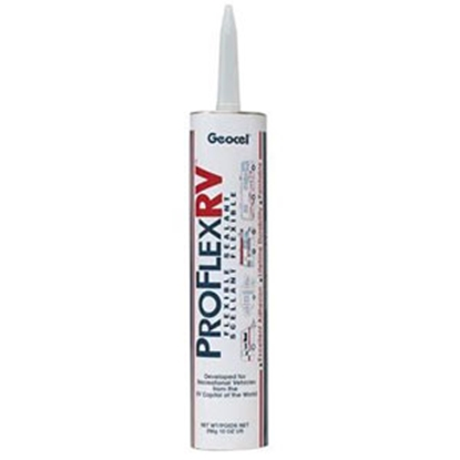 Picture of Geocel Pro Flex RV (TM) White 10 Oz Cartridge Roof Sealant 28101 13-0233