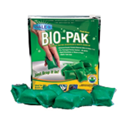 Picture of Walex Bio-Pak (R) 10-Bag 32 Gram Pouch Holding Tank Treatment w/Deodorant BIOPPBG 13-0320