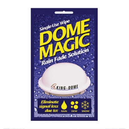 Picture of King Dome Magic Wipes Dome Magic Rain Fade Solution 1830-SP 13-0453