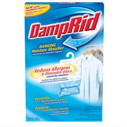 Picture of DampRid Damprid 14 Ounce Hanging Moisture Absorber Dehumidifier FG80 13-0508