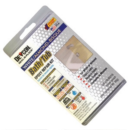 Picture of AP Products  Almond/White Bat/Tub Repair Kit 002-90216 13-0571