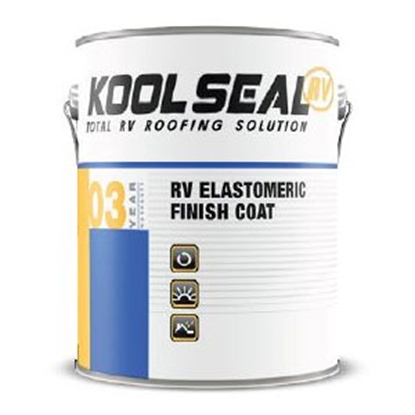 Picture of Kool Seal  White 1 Gallon RV Elastomeric Finish Coat-3 Yr US KSRV08300-16 13-0627