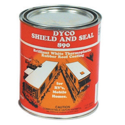 Picture of Dyco Paints  1 Quart 890 Roof Coating 890-4 13-0641