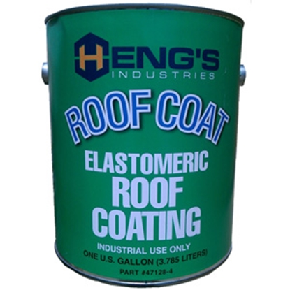 Picture of Heng's  1 Gallon White Elastomeric Roof Coating 47128-4 13-0741