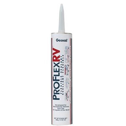 Picture of Geocel Pro Flex RV (TM) Clear 10 Oz Cartridge Roof Sealant 28100 13-0799
