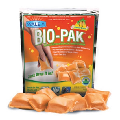 Picture of Walex Bio-Pak (R) 10-Bag 32 Gram Pouch Holding Tank Treatment w/Deodorant BIOTROPBG 13-0828