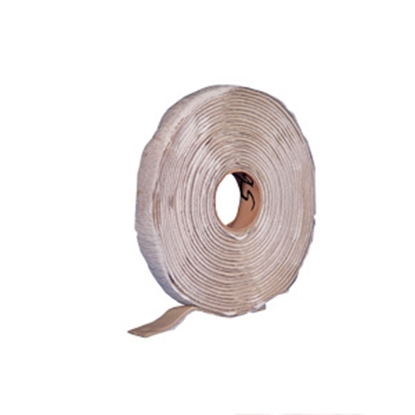 "Picture of Heng's  Off White 1/2"" x 30' Roll Butyl Roof Repair Tape 5828 13-0880"