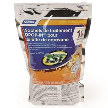 Picture of Camco TST (TM) 15-Bag Holding Tank Treatment w/Deodorant 41180 13-0891