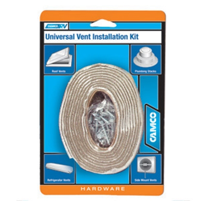 Picture of Camco  Roof Vent Installation Kit w Puttyl Tape & Screws 25003 13-0921