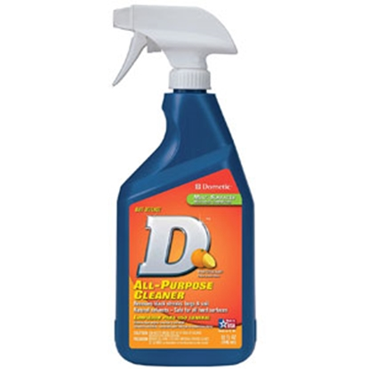 Picture of Dometic D (TM) Line 32 Oz Spray Bottle Citrus-Based All Purpose Cleaner D1205001 13-0987