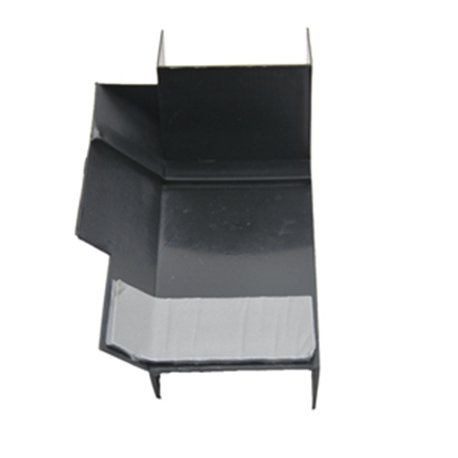 """Picture of AP Products  4-1/2"""" Lx3"""" Wx2-1/2"""" Th RH Notched Slide Out Corner Guard 018-1998-RH 13-1062"""