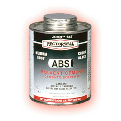 Picture of Rectorseal Gene (TM) 16 oz Low VOC ABS Cement 55942 13-1109