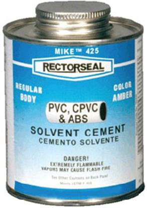 Picture of Rectorseal Mike (TM) 4 oz Low VOC ABS/PVC/CPVC Cement 55969 13-1111