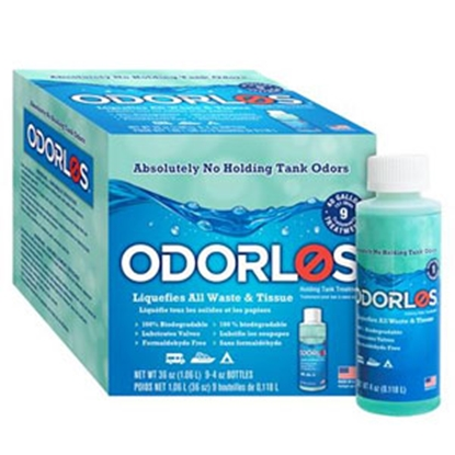 Picture of Odorlos Odorlos (TM) 9-Pack 4 Oz Bottle Holding Tank Treatment V77001 13-1137
