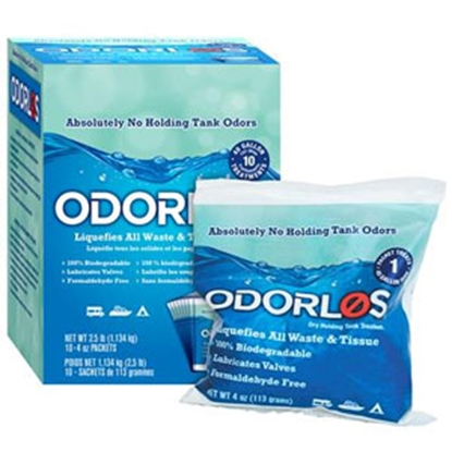 Picture of Odorlos Odorlos (TM) 10-Box 4 Oz Holding Tank Treatment V77011 13-1142