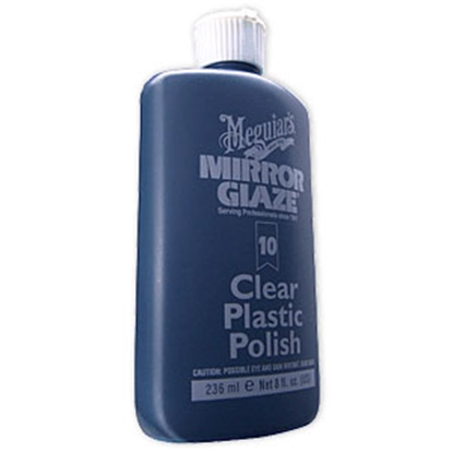Picture of Meguiars Mirror Glaze 8 Oz Bottle Plastic Polish M1008 13-1347