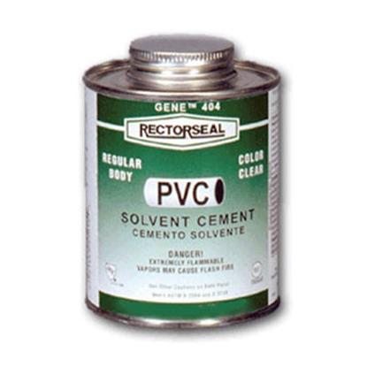 Picture of Rectorseal Gene (TM) 4 oz Low VOC PVC Cement 55901 13-1373