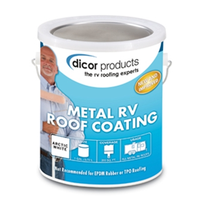 Picture of Dicor  1 Gallon Elastomeric Roof Coating RP-MRC-1 13-1405