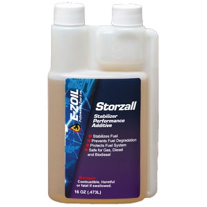 Picture of E-Zoil STORZALL 16 oz Gas/Diesel Fuel Stabilizer. S80-16 13-1615
