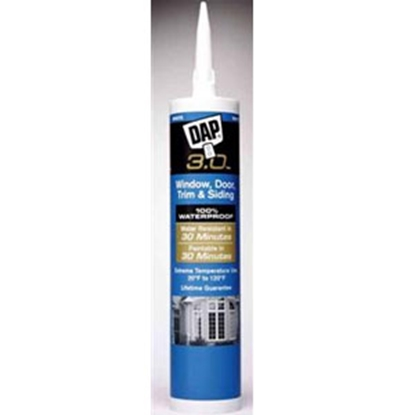 Picture of DAP  Crystal Clear Cartridge 3.0 High Performance Sealant 0 70798 18362 9 13-1674