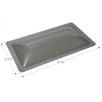 "Picture of Icon  Clear 17-1/2""x33-1/2"" RO 21-1/2""x37-1/2"" Flange Skylight 12214 13-1744"