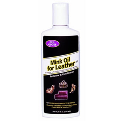 Picture of Gel-Gloss  8 oz Leather Conditioner w/ Mink Oil (Bil) TRMO-8.B 13-1801